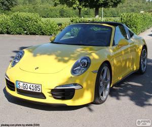 Porsche 911 Targa 4 puzzle