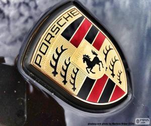 Porsche logo puzzle