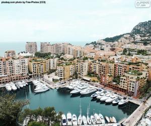 Port of Fontvieille, Monaco puzzle