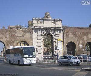 Porta San Giovanni, Rome puzzle