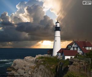 Portland Head Light, United States puzzle