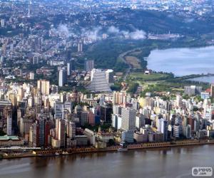 Porto Alegre, Brazil puzzle