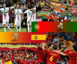 Portugal - Spain, semi-finals Euro 2012 puzzle
