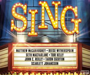 Poster of Sing puzzle
