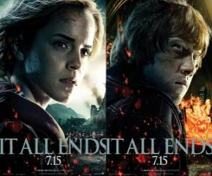 Posters Harry Potter and the Deathly Hallows (4) puzzle