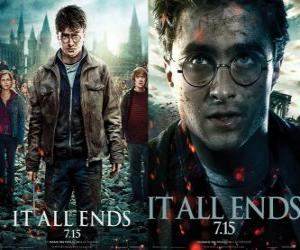 Posters Harry Potter and the Deathly Hallows (3) puzzle