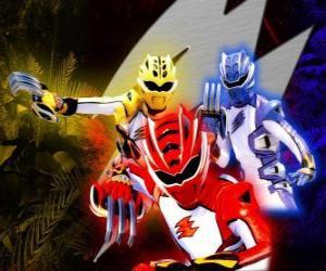 Power Ranger elite warriors puzzle