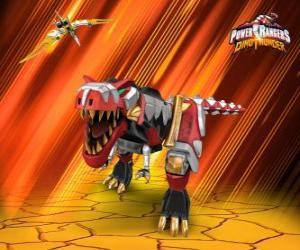Power Rangers Dino Thunder puzzle