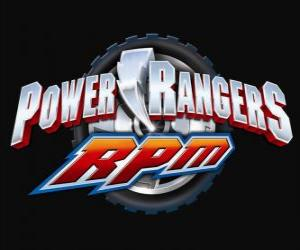 Power Rangers RPM Logo puzzle
