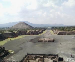 Pre-Hispanic City of Teotihuacan puzzle