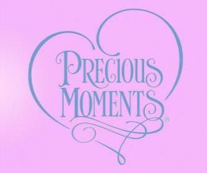 Precious Moments logo puzzle
