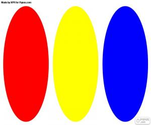 Primary colors puzzle