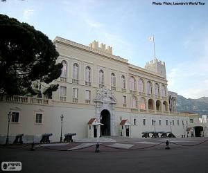 Prince's Palace of Monaco puzzle