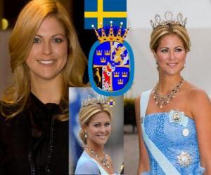 Princess Madeleine of Sweden puzzle