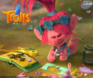 Princess Poppy, Trolls puzzle