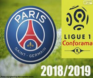 PSG, champion 2018-2019 puzzle