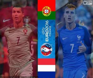PT-FR, end Euro 2016 puzzle