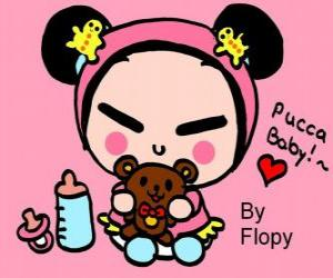 Pucca baby puzzle