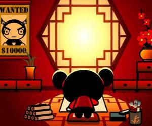 Pucca drawing posters puzzle
