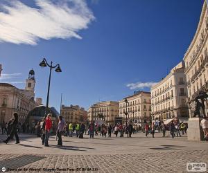 Puerta del Sol, Madrid puzzle