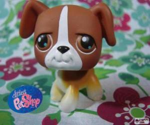 Puppy from the Littlest PetShop puzzle