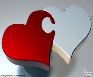 Puzzle hearts puzzle