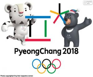 Pyeongchang 2018 Winter Olympics puzzle