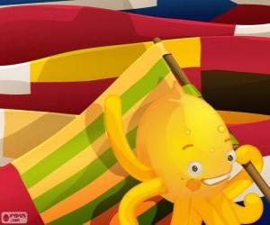 Pypus and flags puzzle