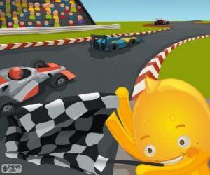 Pypus is a Race Director puzzle