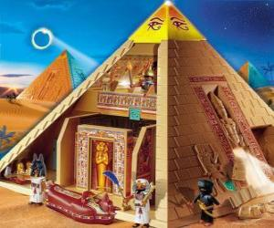 Pyramid Egypt Playmobil puzzle
