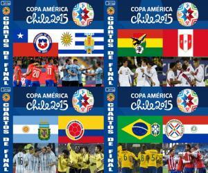 Quarterfinals, Chile 2015 puzzle
