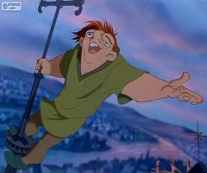 Quasimodo, the Hunchback of Notre Dame puzzle