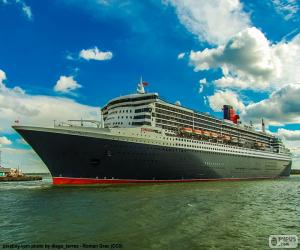 Queen Mary 2 puzzle