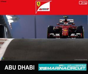 Räikkönen 2015 Abu Dhabi Grand Prix puzzle