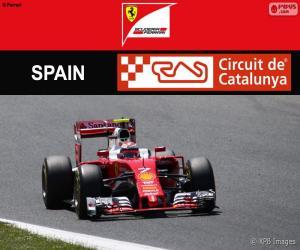 Räikkönen, 2016 Grand Prix of Spain puzzle