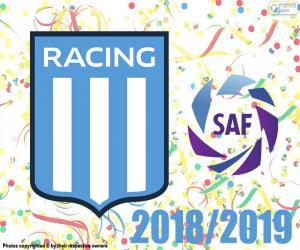 Racing Club, champion 2018-2019 puzzle