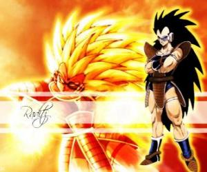 Raditz, a Saiyan, Son Goku's older brother who managed to survive the destruction of planet Vegeta puzzle