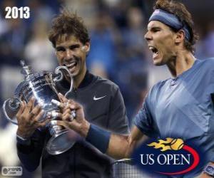 Rafael Nadal 2013 US Open Champion puzzle