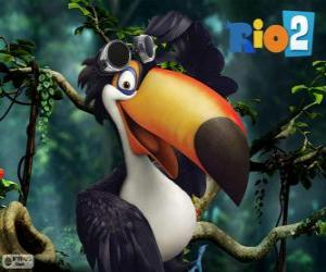 Rafael, the toucan puzzle