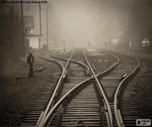 Railway tracks puzzle