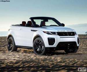 Range Rover Evoque Convertible puzzle