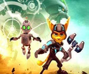 Ratchet and Clank robot puzzle