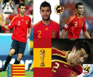 Raul Albiol (is killed by a pin) Spanish team defense puzzle