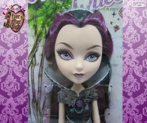 Raven Queen, leader of Rebels in Ever After High puzzle