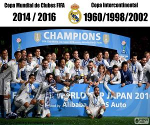 Real Madrid, 2016 FIFA Club World Cup puzzle