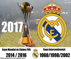 Real Madrid, 2017 FIFA Club World Cup puzzle