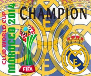 Real Madrid CF, Champion Club World Cup FIFA 2014 puzzle