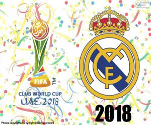 Real Madrid, world champion 2018 puzzle
