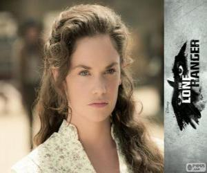 Rebecca Reid (Ruth Wilson) in the film The Lone Ranger puzzle