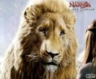 Aslan, the legendary lion creator of the country of Narnia